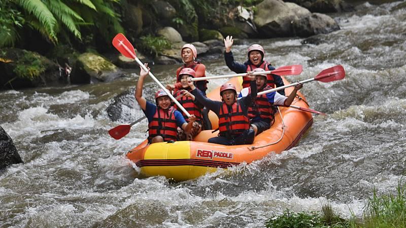 Rafting in Ayung River Ubud Bali 1