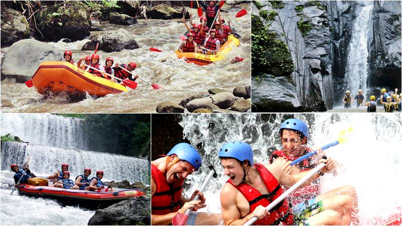 Discover Whitewater Rafting Class Level of Bali River Rafting 2