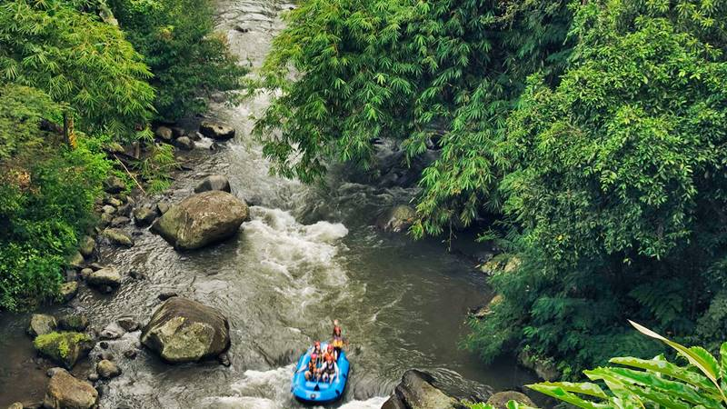 Ayung River for Amazing Ubud Rafting Adventure in Bali 1