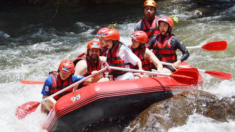 Try Water Rafting in Ubud, Bali 1