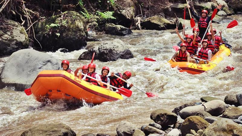 Ayung River for Amazing Ubud Rafting Adventure in Bali 3