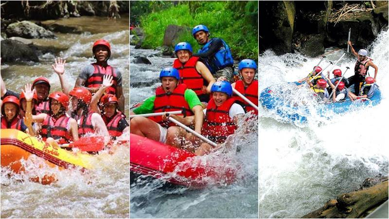 Discover Whitewater Rafting Class Level of Bali River Rafting 1