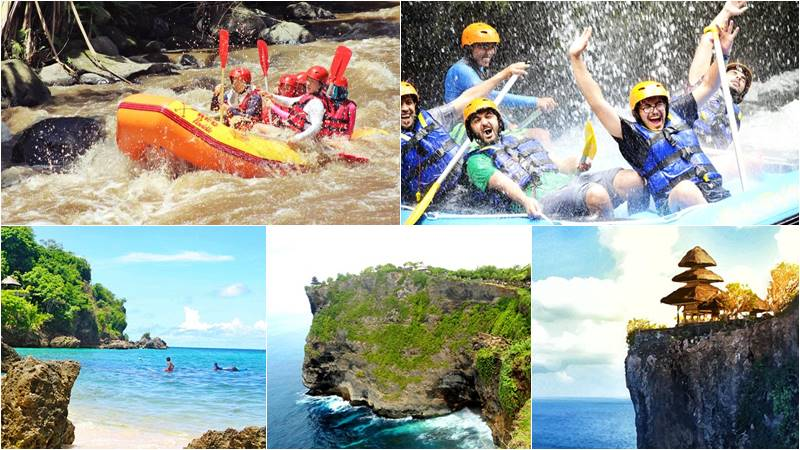 Bali Rafting + Uluwatu Cliff Temple Tour 1