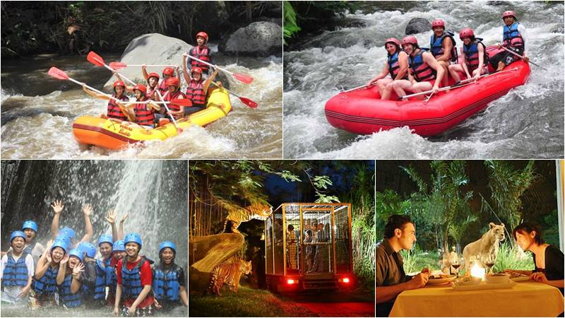Bali Rafting + Night Safari Tour 1