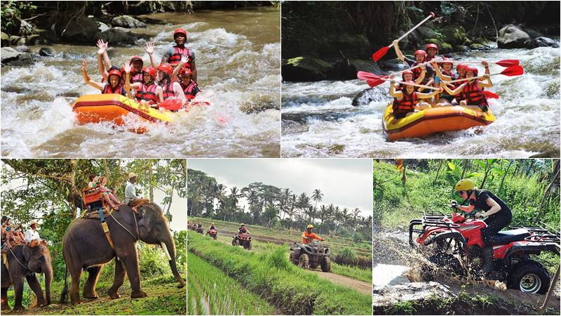 Bali Rafting + Elephant Trekking + ATV Ride 7