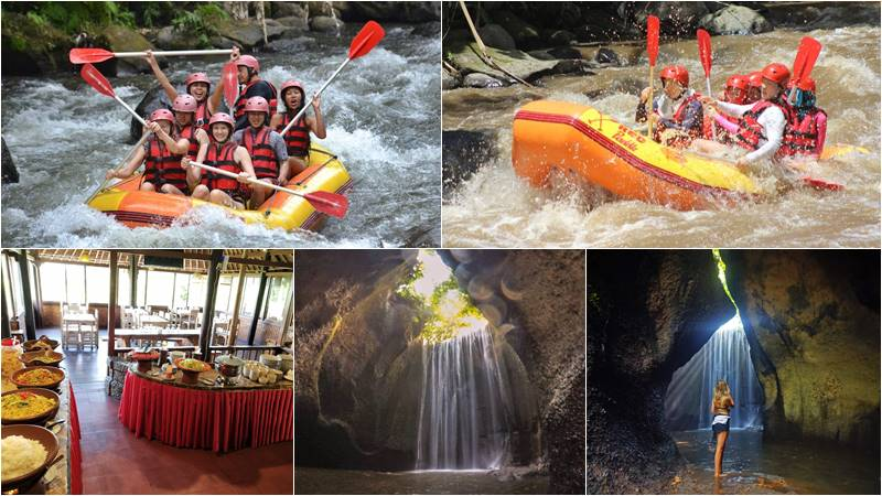 Bali Rafting + Cepung Waterfall Tour 1