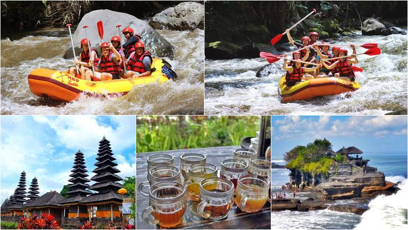 Bali Rafting + Tanah Lot Sunset Tour 1