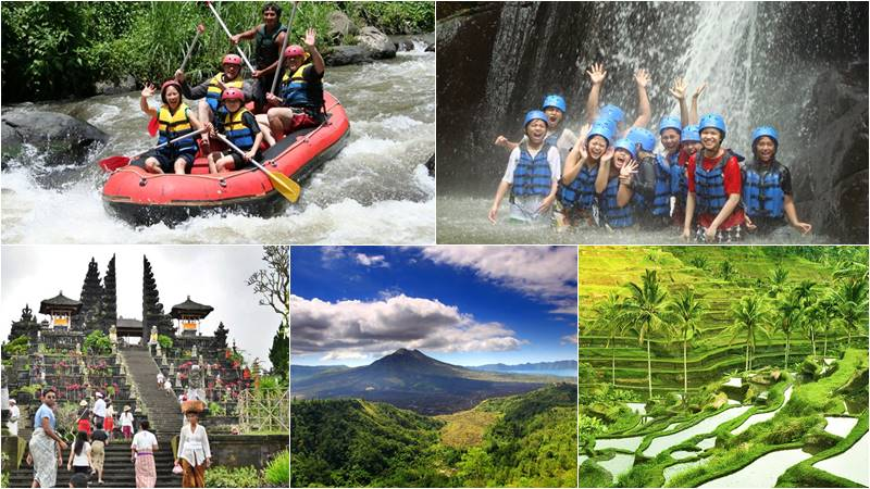Bali Rafting + Mother Temple + Volcano Tour 2
