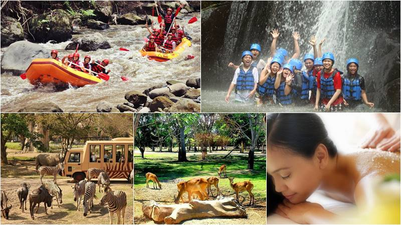 Bali Rafting + Bali Safari + 2 Hours Spa 1