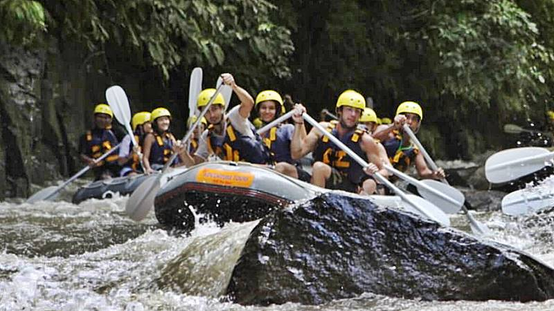 Amazing Places to Try Water Rafting in Bali 4