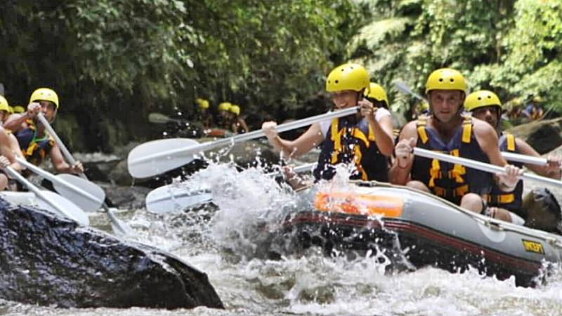 Exploring Ayung River Water Rafting 8
