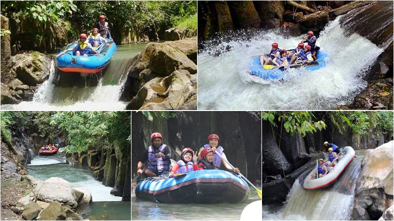 Recommendations of White Water Rafting Bali 1