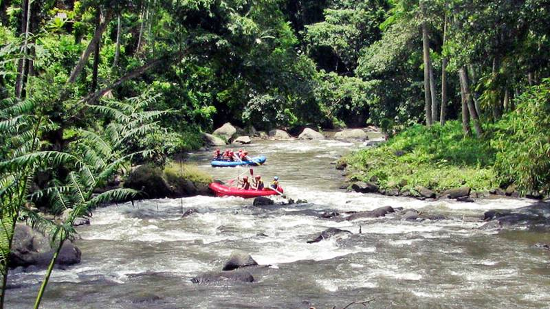What to Do in Bali - River Rafting in Bali 1