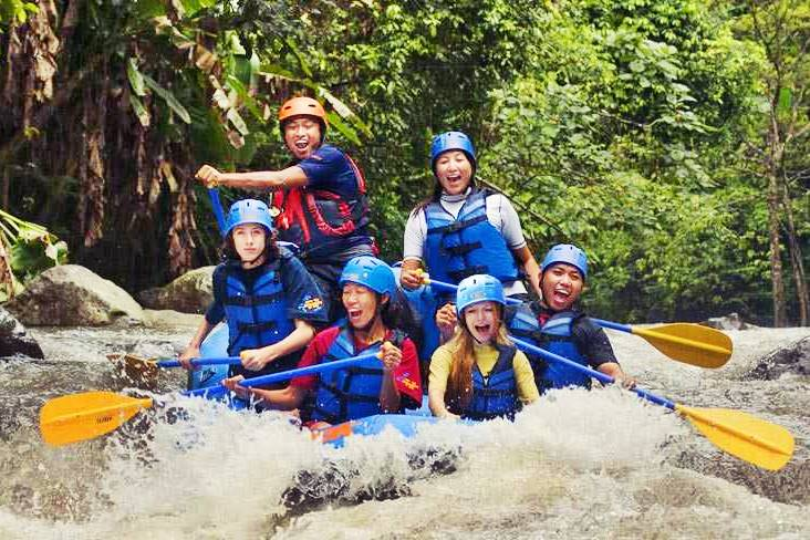 Sobek Rafting Ayung River Light 1