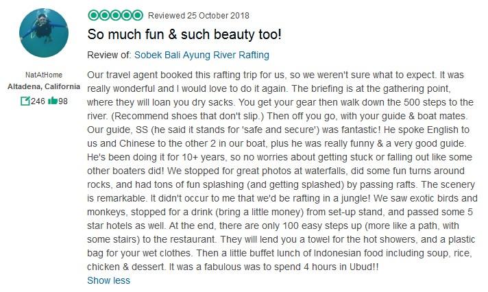 Sobek Rafting Ayung River Classic 4
