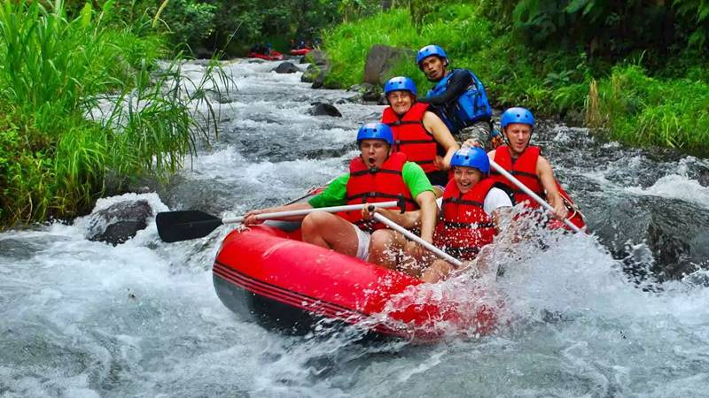 White Water Rafting in Bali at Telaga Waja River: 5 Info You Need To Know 1