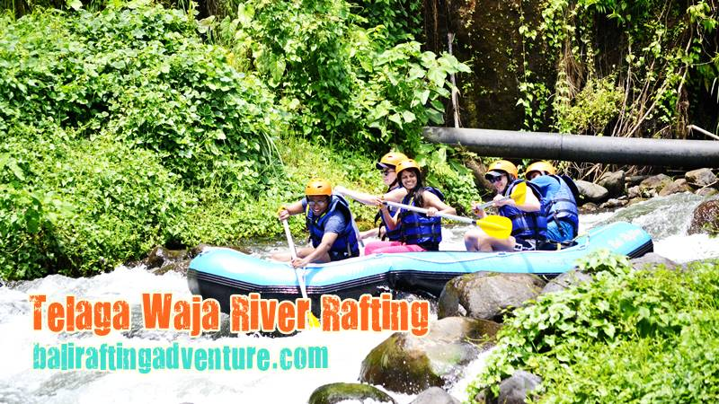 Get Yourself Thrilled in Telaga Waja Rafting Bali 2