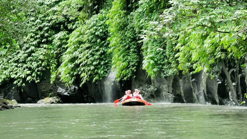 White water rafting Ubud